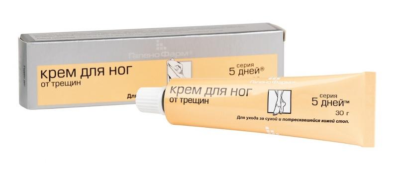 5d 5 дней крем д/стоп от трещин 30г (35г)