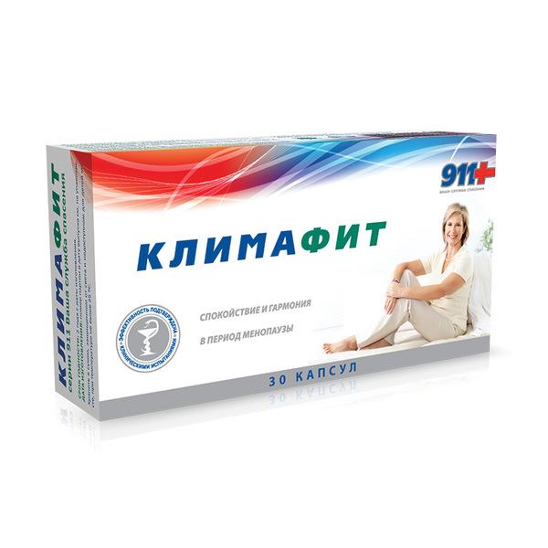 911 климафит комплекс витаминов д/женщин при перименопаузе и менопаузе капс. n30