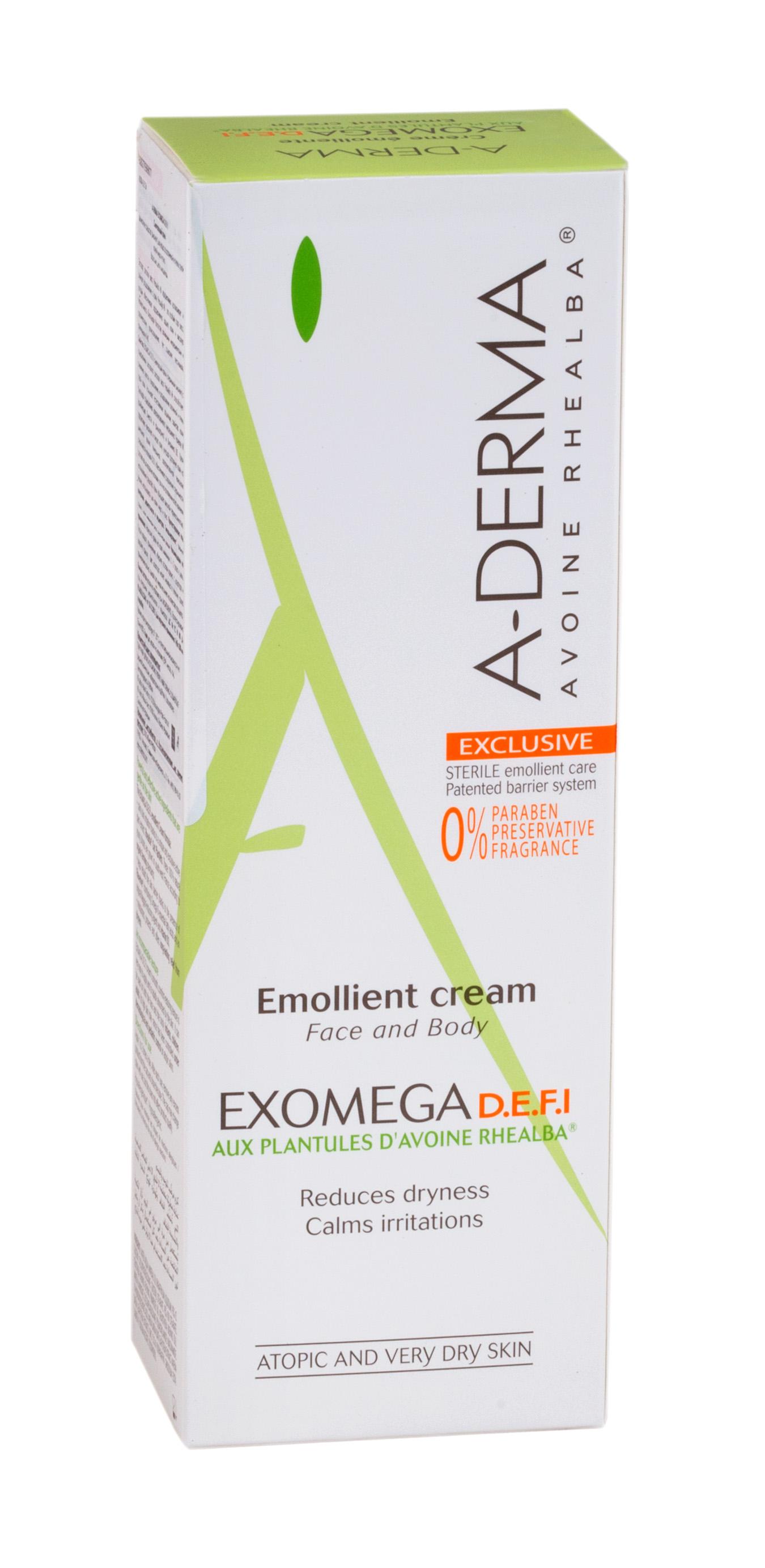 А-дерма эгзомега крем смягчающий 200мл (c36907)