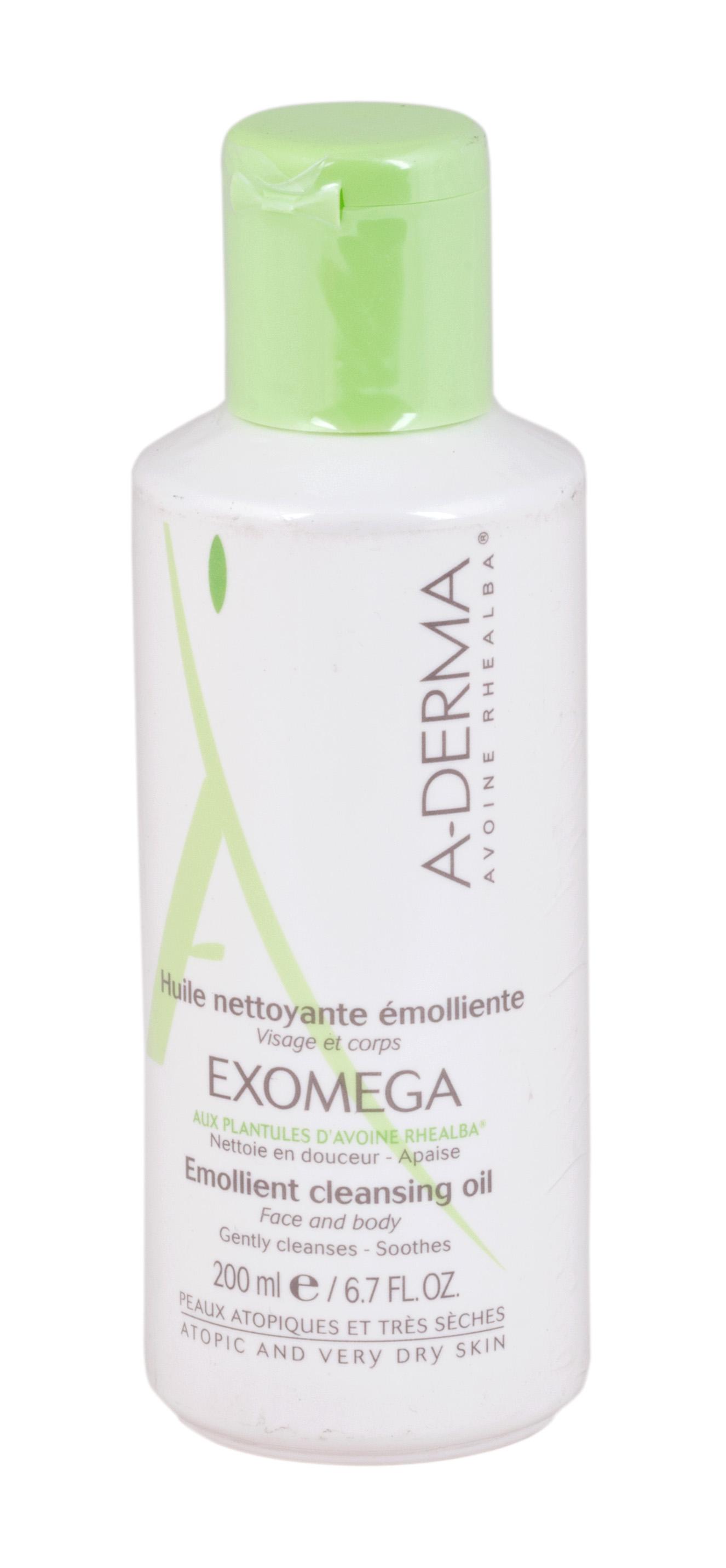 А-дерма эгзомега масло смягчающее очищающее 200мл (с24606)