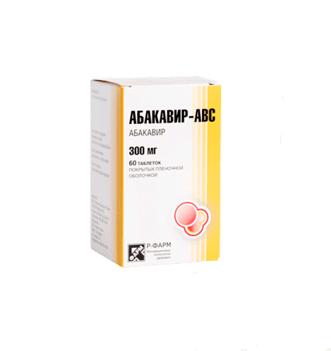 Абакавир-АВС 300 мг № 60(банка)