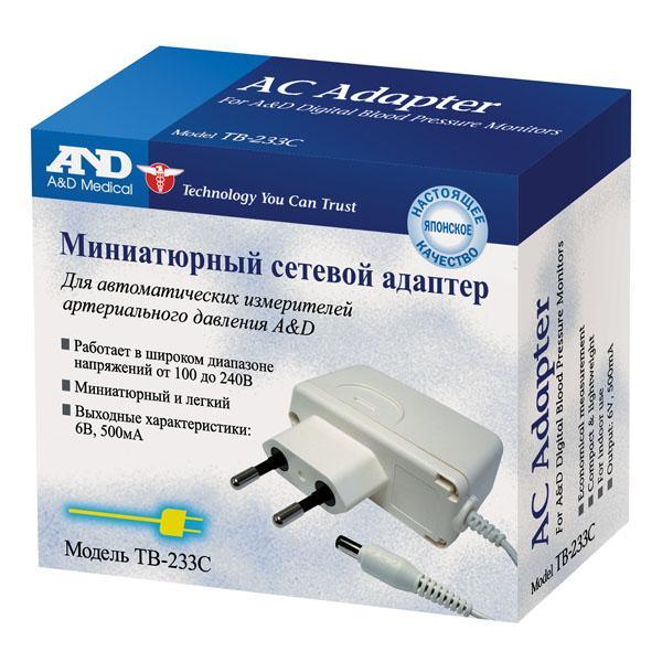 Адаптер д/тонометра ua тв-233с
