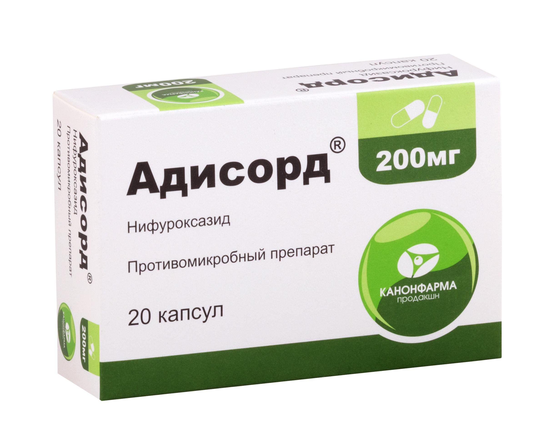 Адисорд капс. 200мг №20