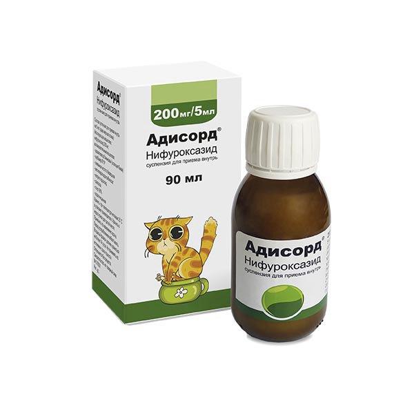 Адисорд сусп. для приема внутрь 200 мг/5мл 90 мл №1