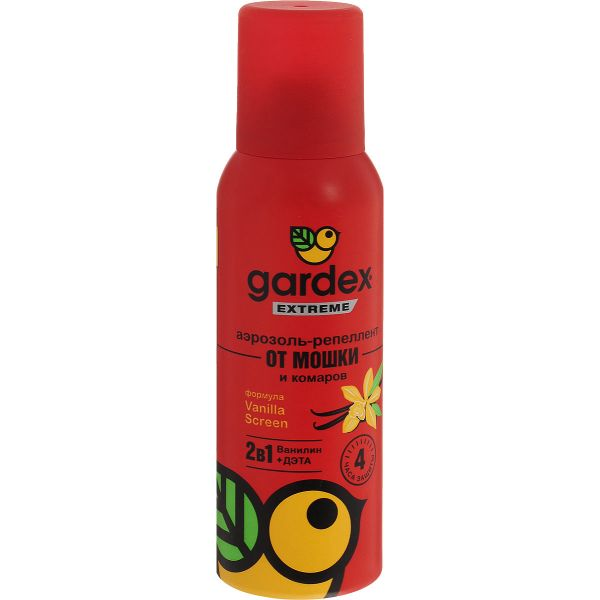 Аэрозоль Gardex (Гардекс) Extreme от мошек и комаров 100 мл