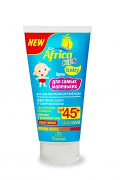 Африка кидс крем солнцезащитный spf 45+ 50мл на суше и на море (411)