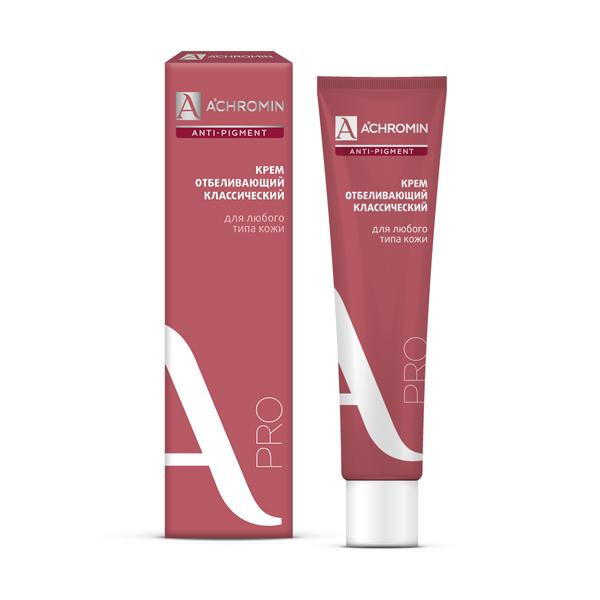 Ахромин крем отбеливающий с уф-защитой 45мл
