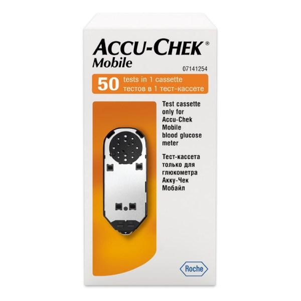 Акку-Чек Мобайл тест-кассета №50