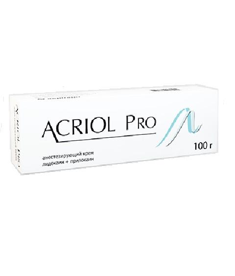 Акриол про крем для мест. и наруж. прим. 2,5 %+2,5 % 100 г