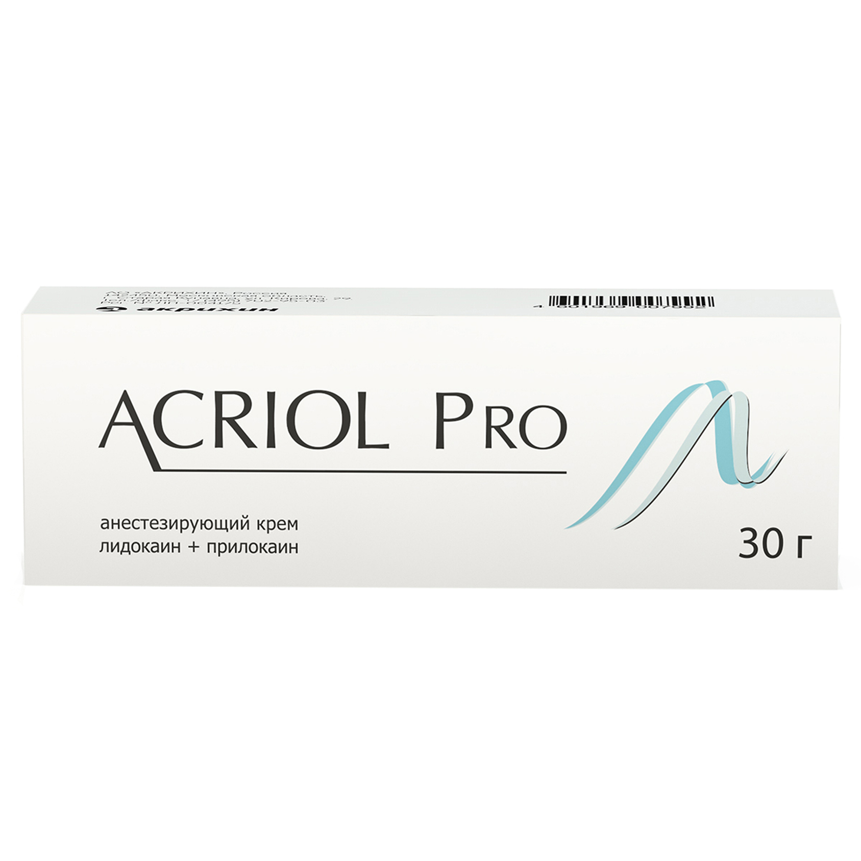 Акриол про крем для наружного применения 2,5% + 2,5% туба 30г №1