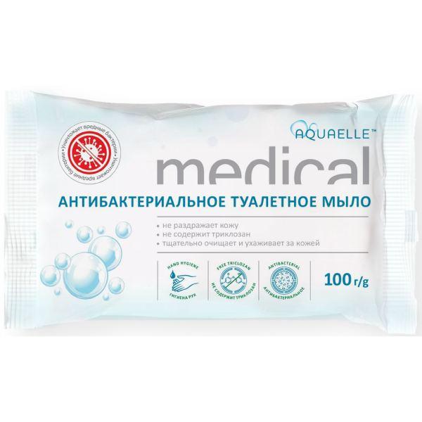 """Акваэль Medical мыло антибактериальное марки """"Эстра"""" 100 г"""