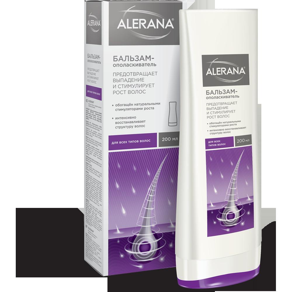 Алерана бальзам-ополаскиватель д/всех типов волос 200мл