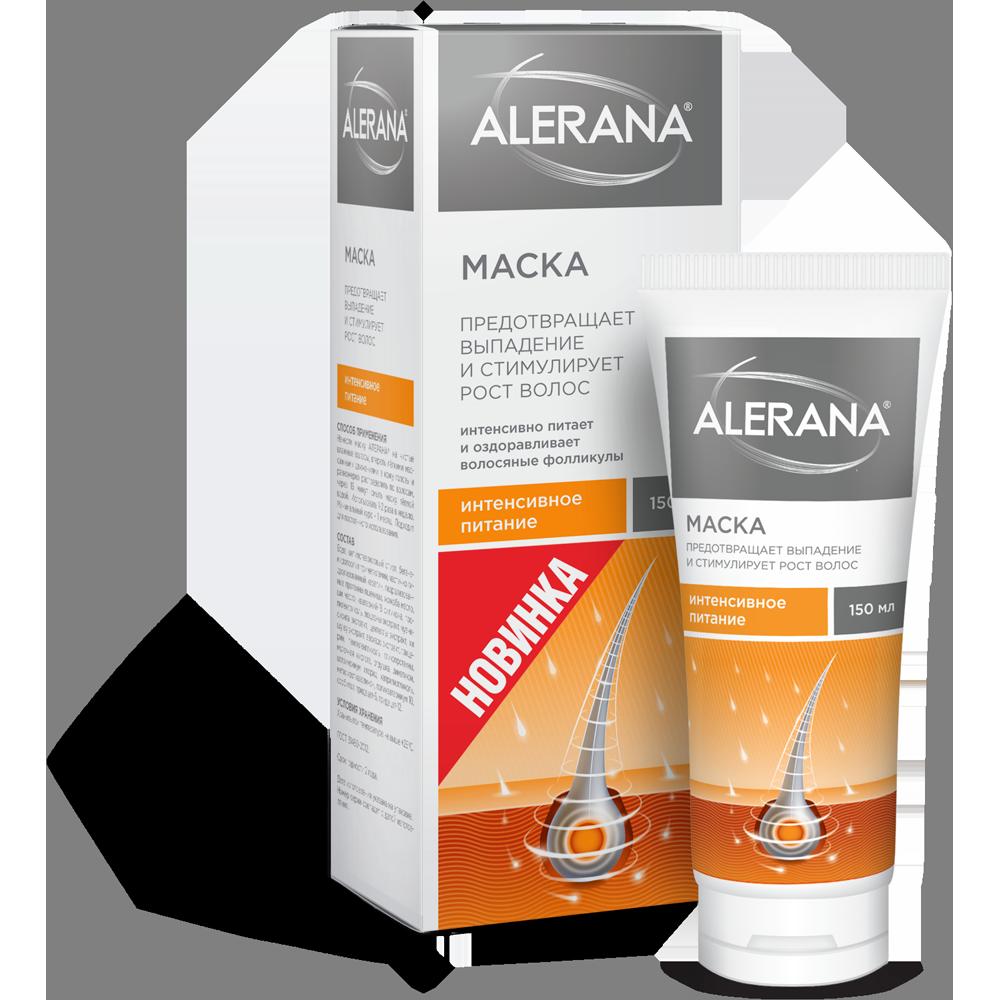Алерана маска д/волос интенсивное питание 150мл