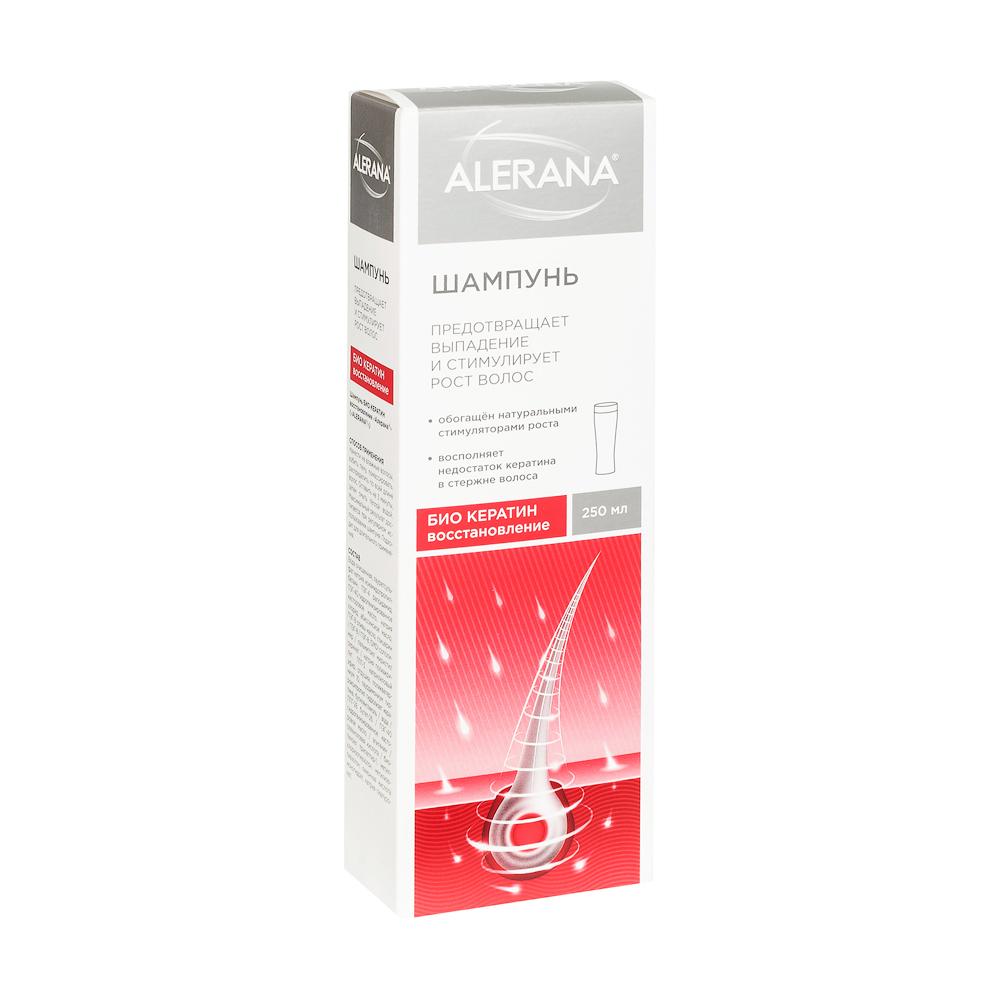 Алерана шампунь био кератин восстановление фл. 250мл