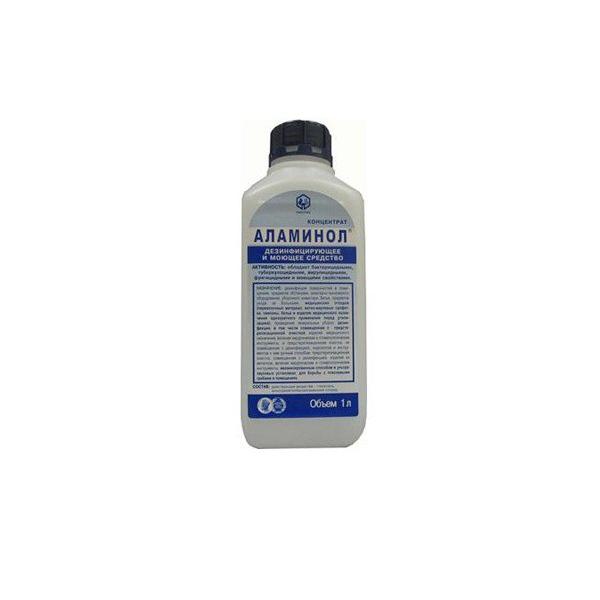 Алламинол средство дезинфицирующее концентрат флакон 1л