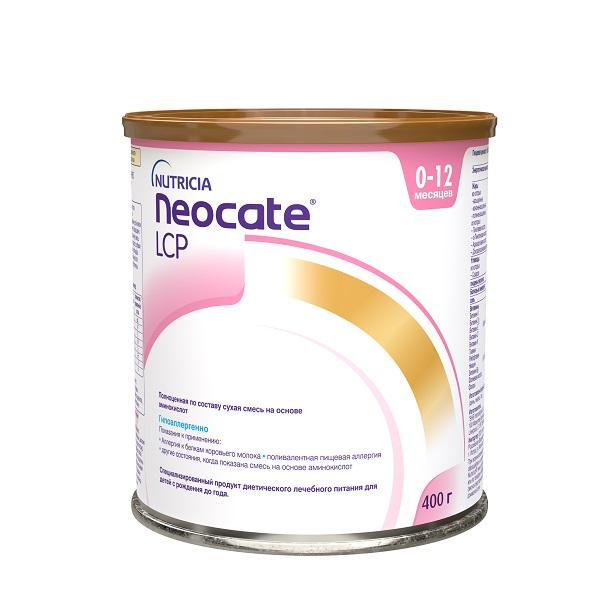 Аминокислотная смесь неокейт lcp 0+ мес., 400 г