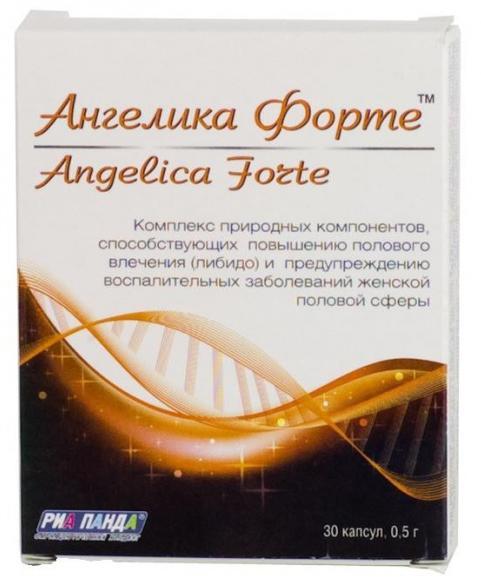Ангелика форте капс. 0,5г n30