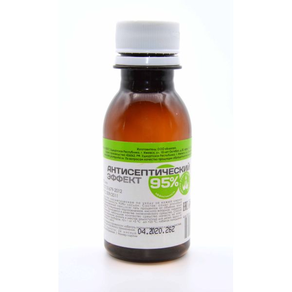 Антисептический эффект лосьон по уходу за кожей фл. 100мл