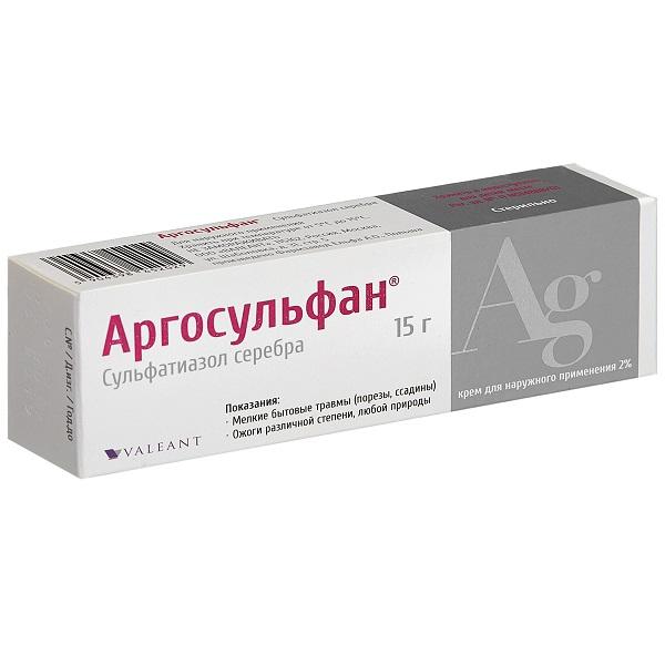 Аргосульфан крем 2% 15г n1