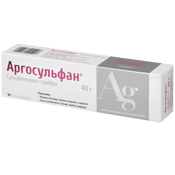 Аргосульфан крем 2% 40г n1