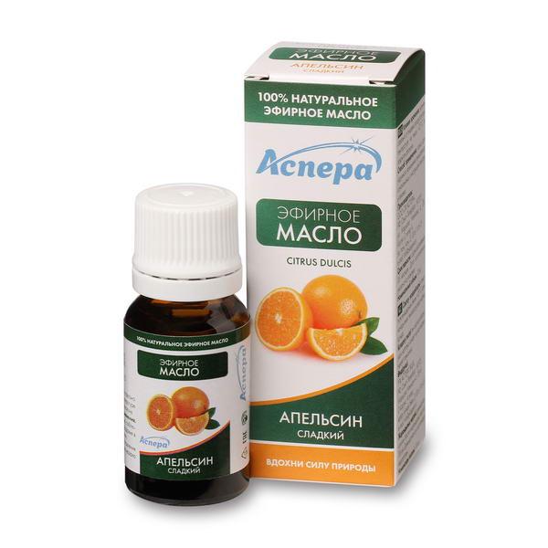 Аспера масло апельсина сладкого эфирное фл. 10мл