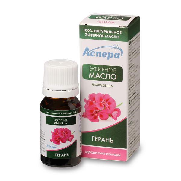 Аспера масло герани душистой эфирное фл. 10мл