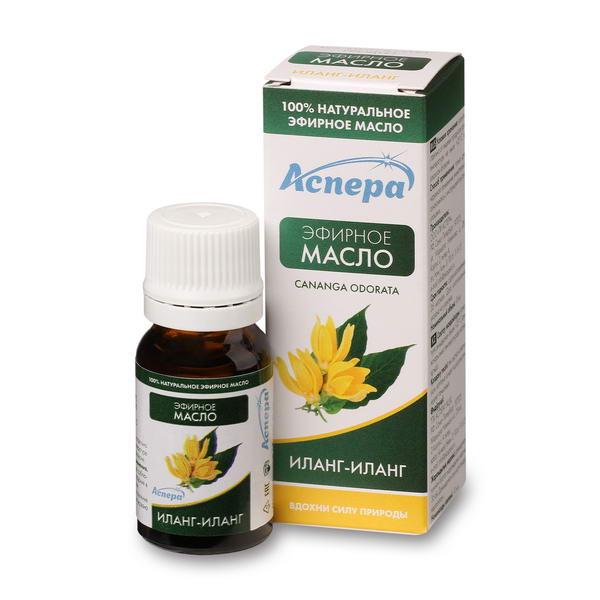Аспера масло иланг-иланг эфирное фл. 10мл