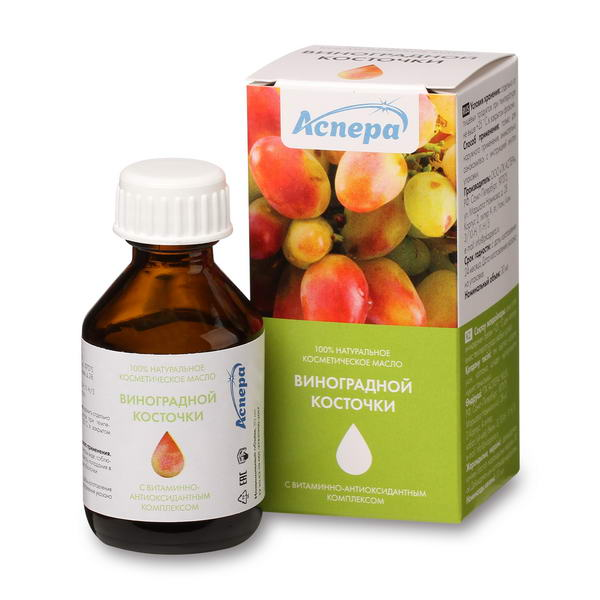 Аспера масло виноградной косточки косметическое фл. 30мл
