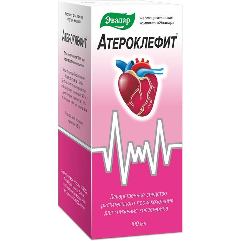 Атероклефит экстр. жидк. 100мл