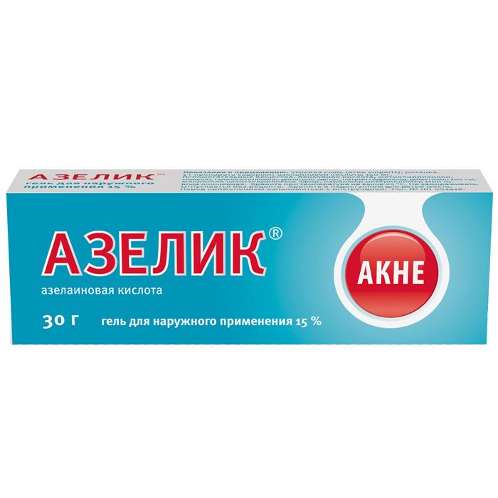 Азелик гель 15% 30г