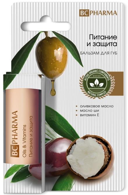Бальзам для губ биси (beauty care) питание и защита 4,1 г