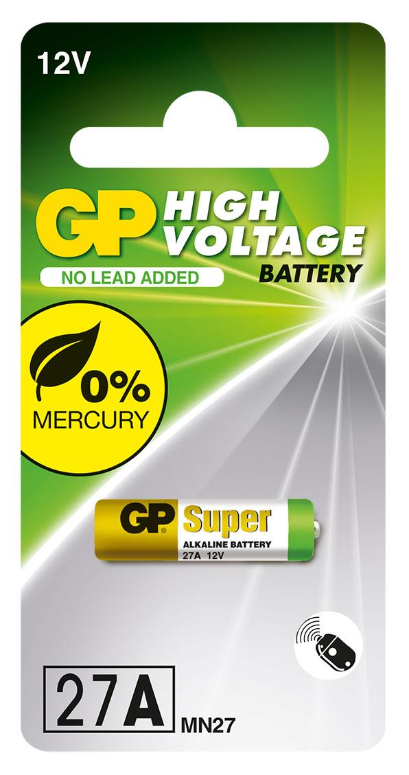 Батарейка GP (Джи пи) 27A 12V 1 шт.