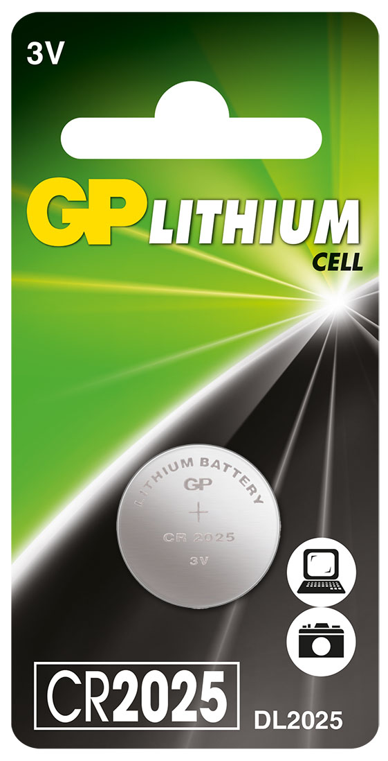 Батарейка литиевая gp cr2025 3в №1