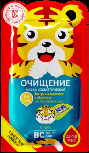 "Bc beauty care маска для лица очищающая ""тигр"" 25 мл №1"