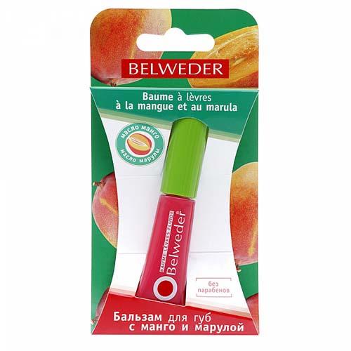 Бельведер бальзам-блеск д/губ манго-марула 7мл