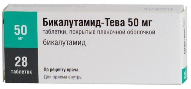 Бикалутамид-тева таб. п.п.о. 50мг n28