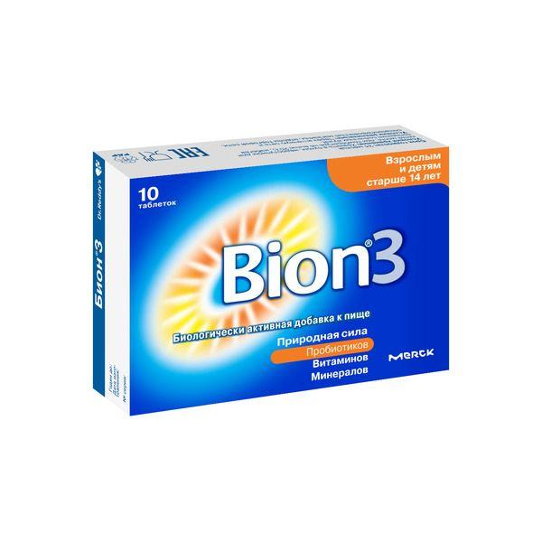 Бион 3 таб. 1,05г n10