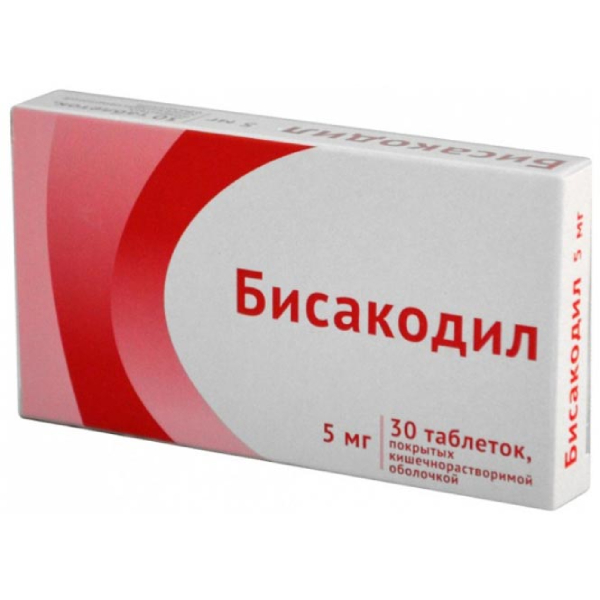 Бисакодил таб. п.о кш/раств 5мг n30
