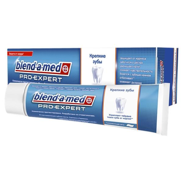 Blend-a-Med (БЛЕНД-А-МЕД) Зубная паста Про-Эксперт Крепкие зубы Тонизирующая Мята туба 100мл