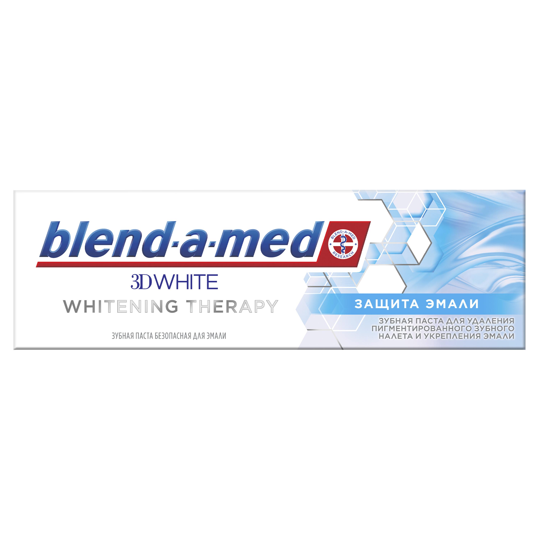 Бленд-а-мед паста зубная 3d whitening therapy защита эмали туба 75мл