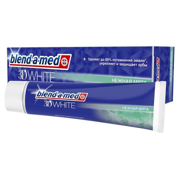 Бленд-а-мед зубная паста все в одном нежная мята туба 100мл