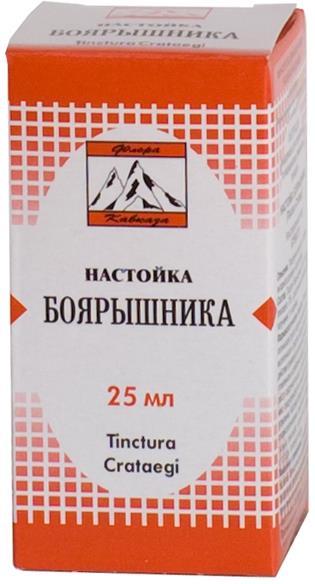 Боярышник настойка 25мл Флора Кавказа