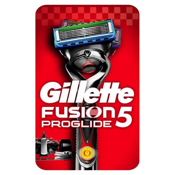 Бритва Gillette (Жиллетт) FUSION Power со сменной кассетой (с элементом питания)