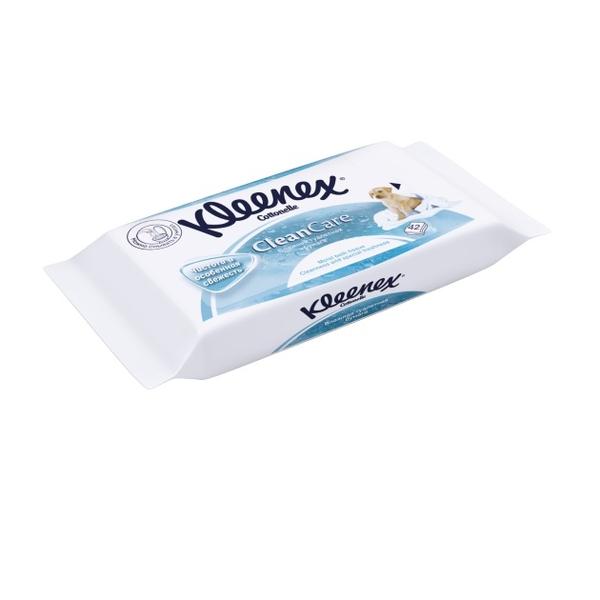 Бумага туалетная влажная клинекс фреш n42 (4583040)