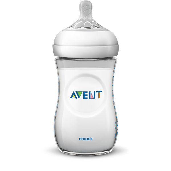 Бутылочка Avent (Авент) из пропилена с силиконовой соской 260 мл