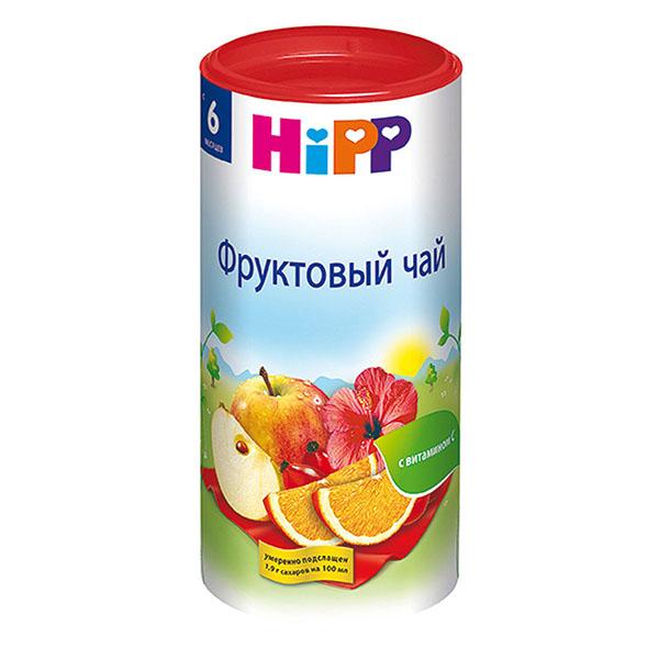 Чай хипп (hipp) фруктовый чай 200 гр. с 6-ти месяцев