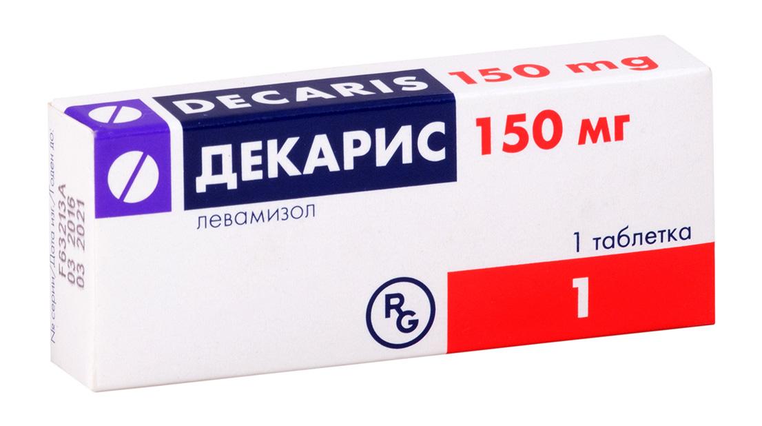 Декарис таб. 150мг n1