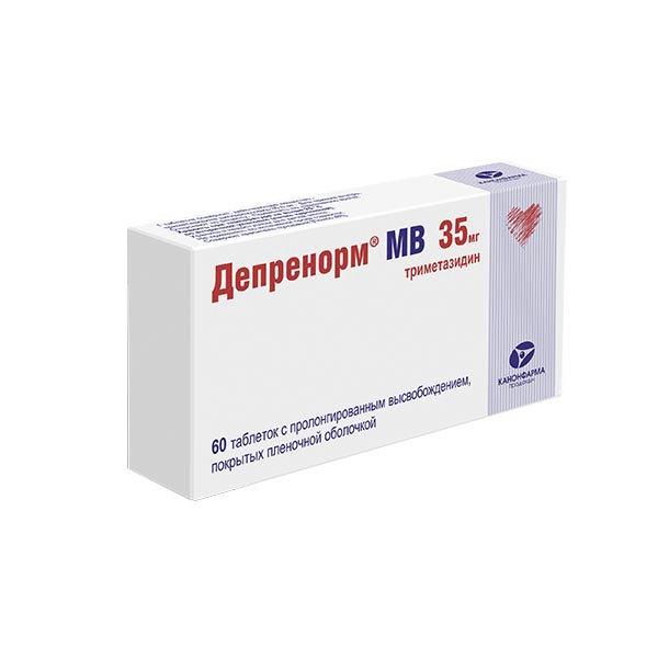 Депренорм мв таб. с пролонг высвоб. п.п.о. 35 мг 60 шт.
