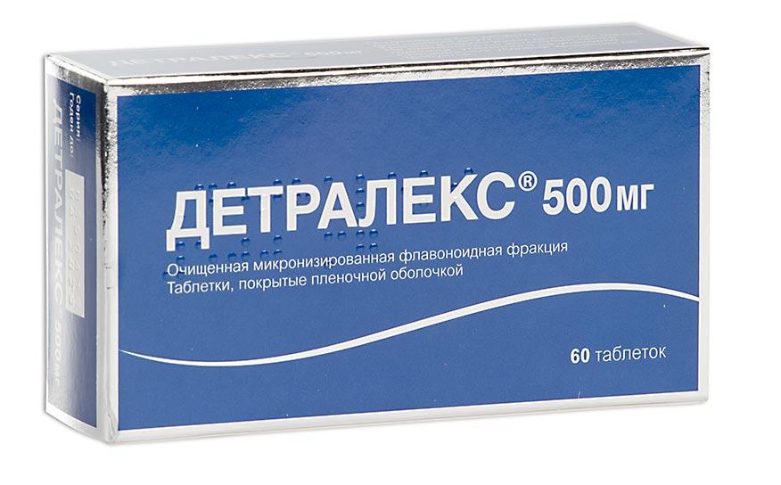 Детралекс таб. п.п.о. 500мг n60