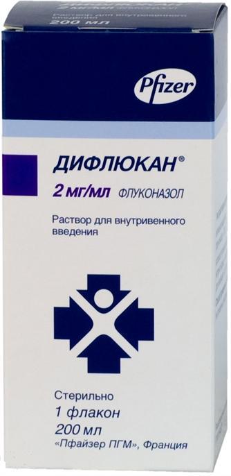 Дифлюкан р-р в/в 0,2% 200мл n1